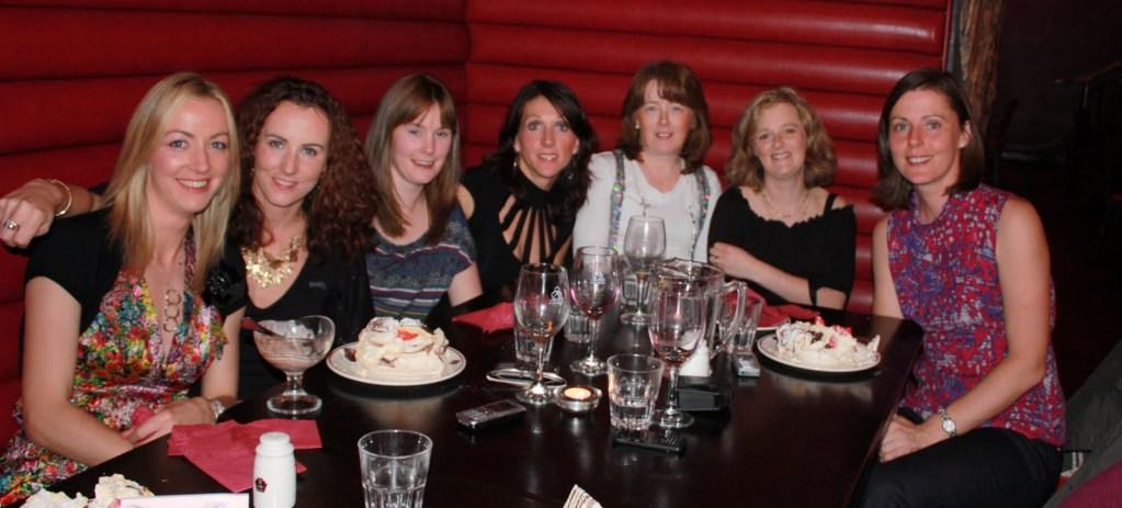 Just desserts for Mayo AC women after Dublin Marathon '08