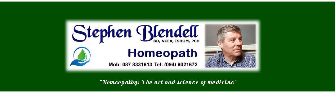 Stephen Blendell Homeopath Logo