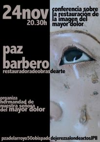 CARTEL CONFERENCIA MPAZBARBERO