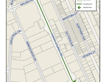 New funding for Huron Church Road