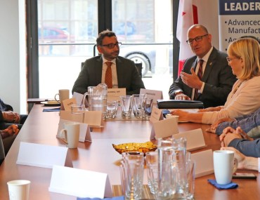 Mayor Drew Dilkens hosts roundtable with Parliamentary Secretary Omar Alghabra