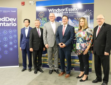 FedDev Ontario invests up to $5 million in Windsor-Essex County