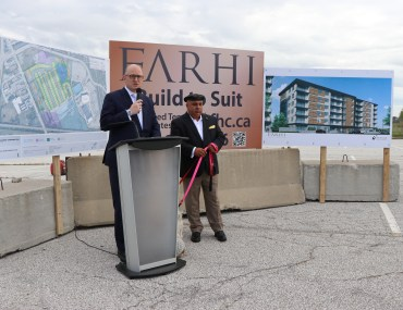 $250M residential project gets under way at 1600 Lauzon Road