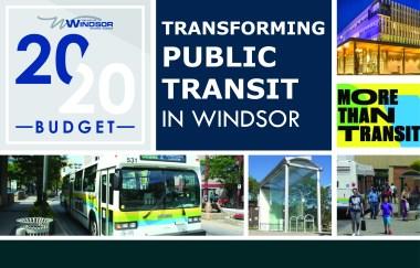 2020 Budget: Transforming public transit