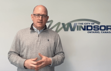 Mayor Dilkens explains Small Business Action Plan