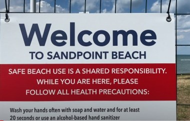 Sandpoint Beach reopens