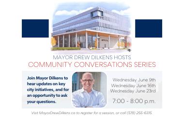 Mayor Dilkens Hosts Community Conversations Series