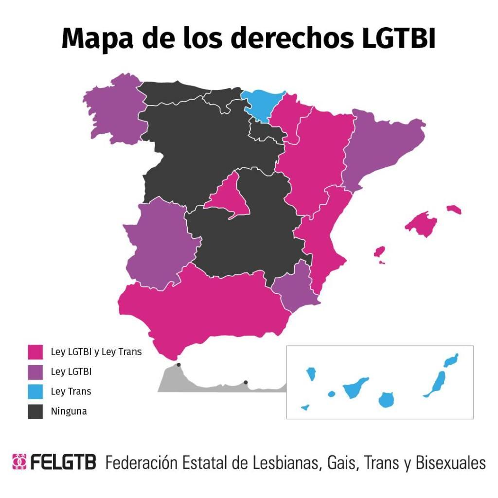 Derechos LGTBI en España