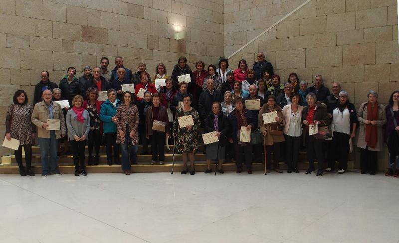 El ayuntamiento de Logroño homenajea a los Voluntarios de UDP La Rioja
