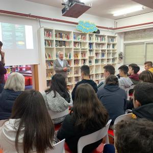 Encuentro Intergeneracional UDP con estudiantes de la ESO