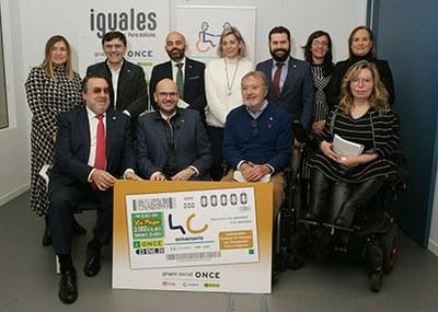 El cupón de la ONCE celebra el 40 aniversario de COCEMFE