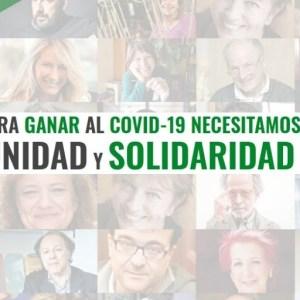 Ya son 250 organizaciones las que se unen para exigir 'UNIDAD frente al COVID-19'