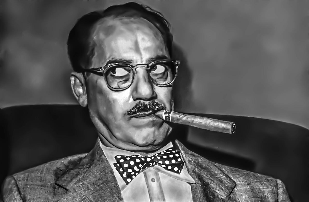 Retrato de Groucho-marx