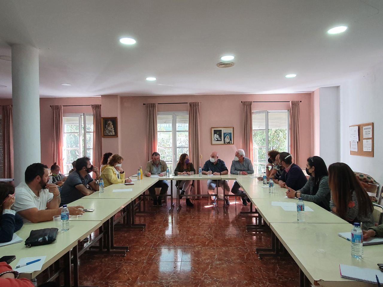 Reunión Ayuntamiento de Cádiz, Fundación 26D y UDP cÁDIZ