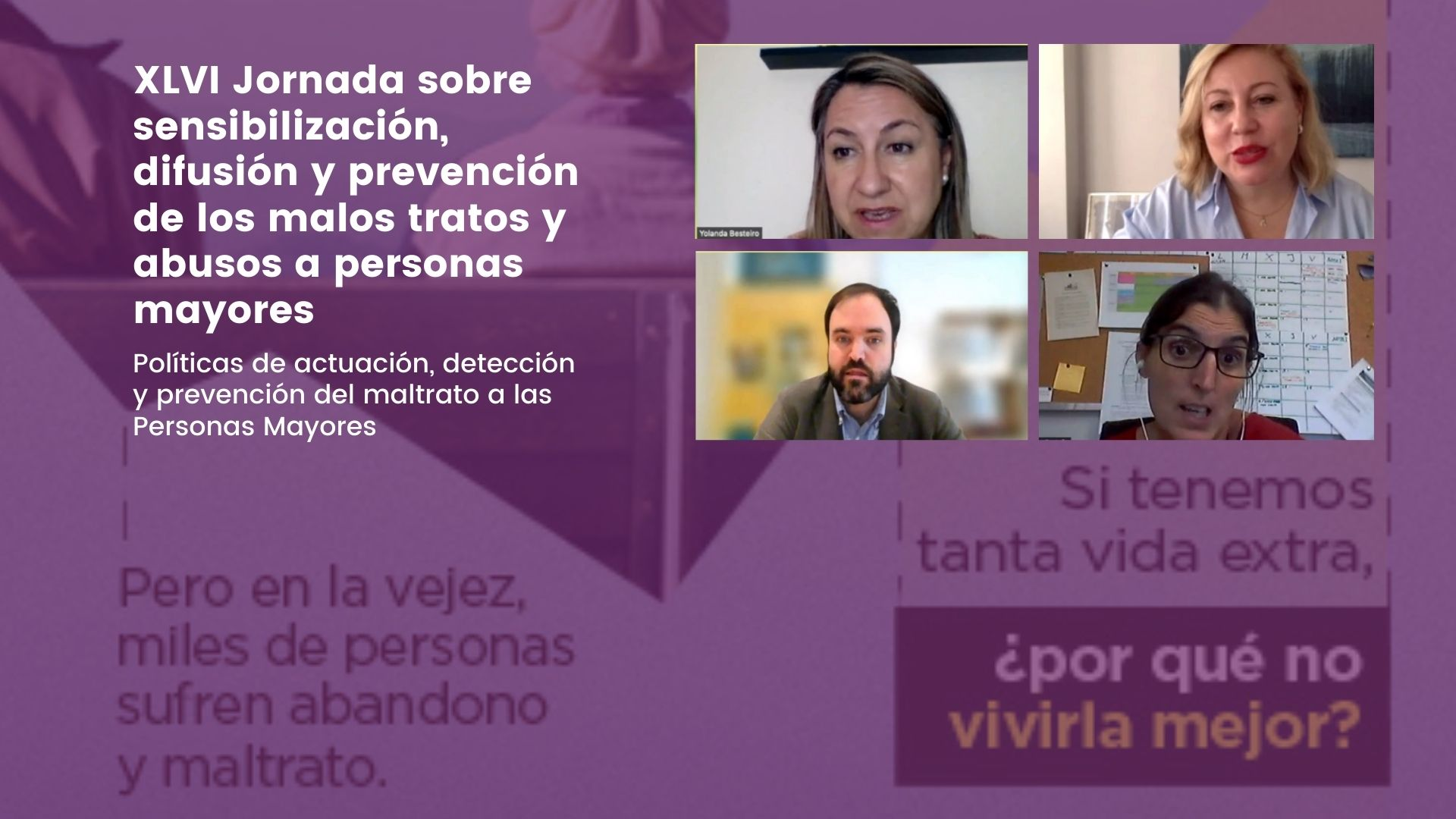 Cronica ponentes XLVI Jornada prevención maltrato