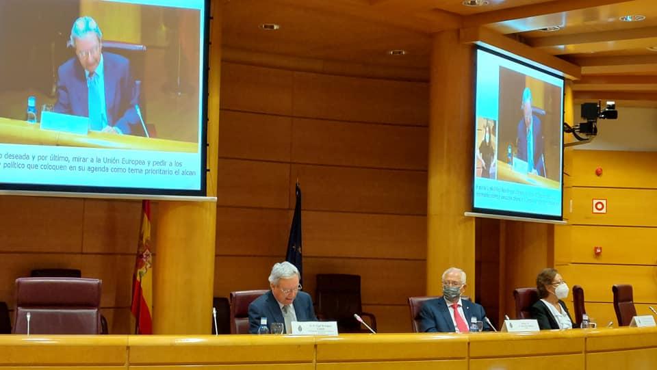 presentación de la Plataforma de Mayores y Pensionistas