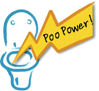 Thames Water's newly unveiled Poo Power logo