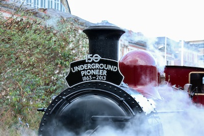 Transport Museum offers rare steam rides on the Metropolitan line