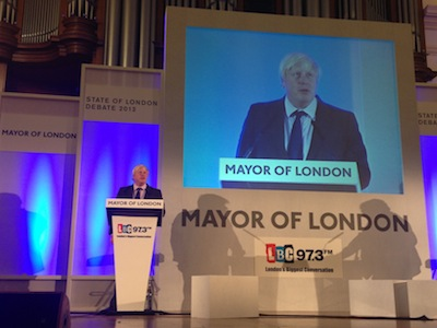 Boris takes on fire cuts critics with his best ever State of London performance