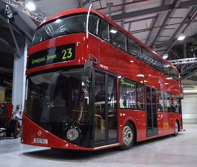 The bus formerly known as the New Bus for London is seeking a new name. Image: TfL.