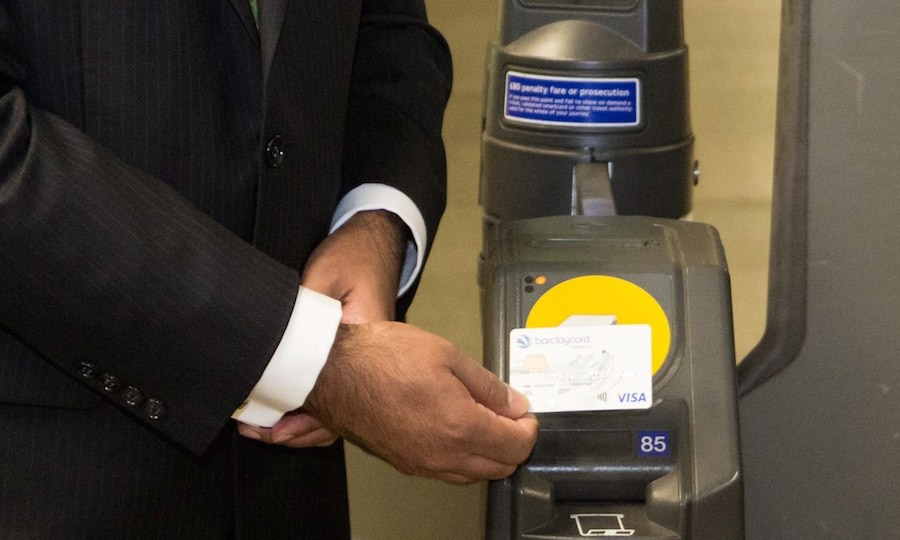 Londoners took 180m contactless journeys in first 12 months