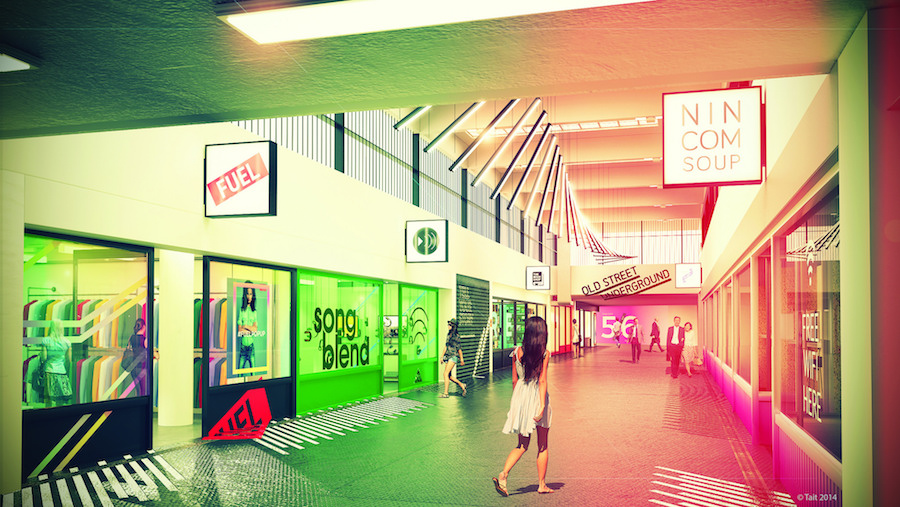 TfL has already hosted pop-up shops at Old Street station. Image: TfL