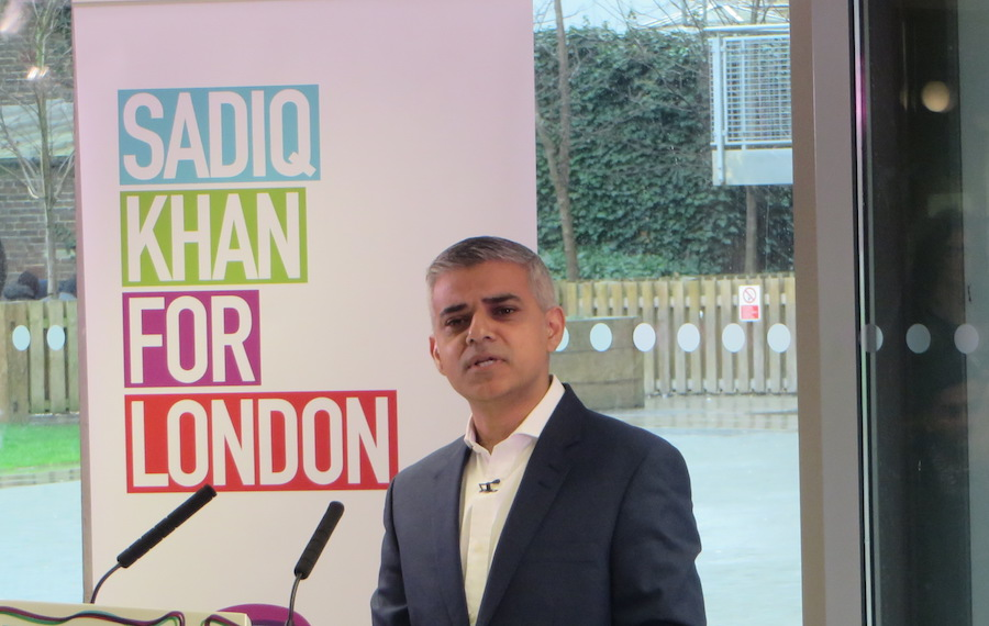 Mr Khan is the frontrunner to succeed Boris Johnson as Mayor.
