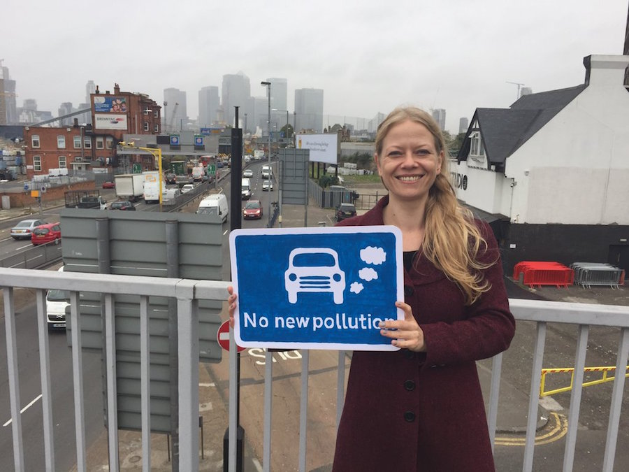 Sian Berry is the Green party candidate for Mayor.
