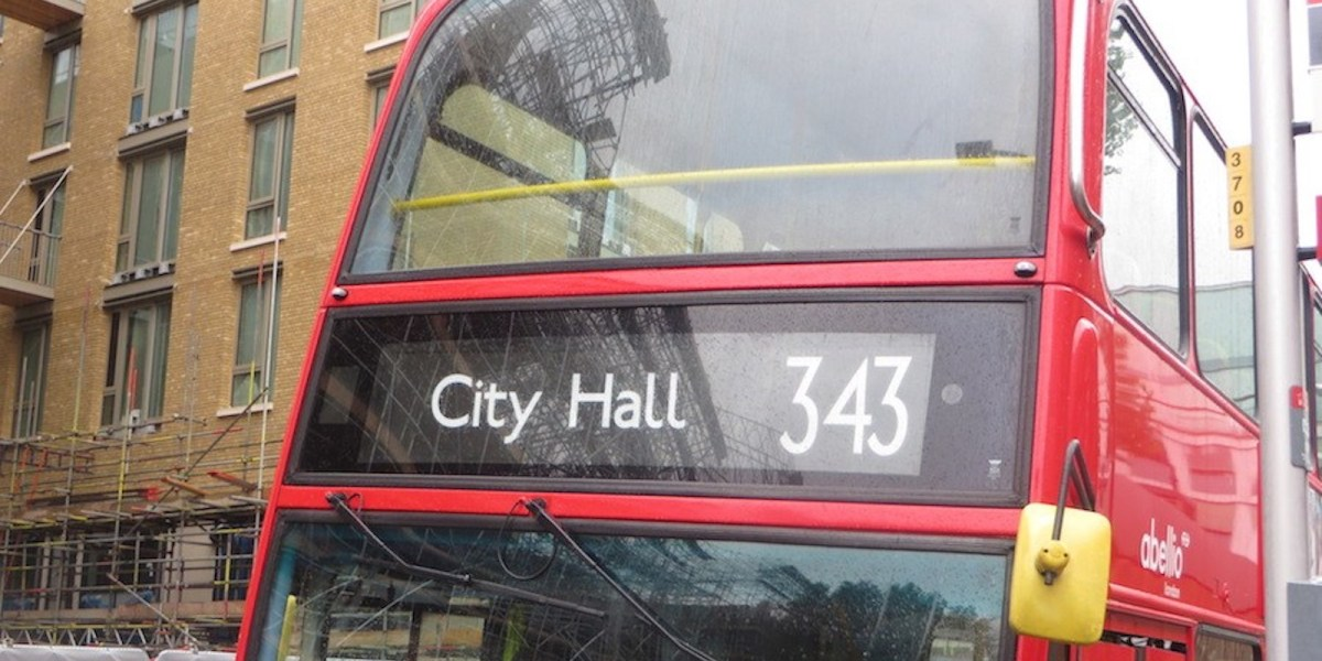 London buses to trial automatic brakes and audible warnings in bid to boost road safety
