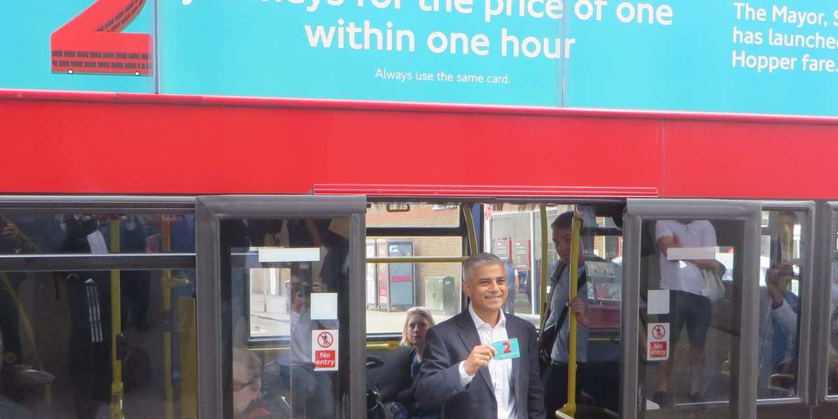 Sadiq's 'Hopper' bus and tram fare now offers unlimited trips within an hour