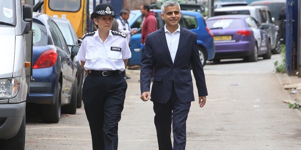 Sadiq Khan was right on stop and search in 2015 and he's right today