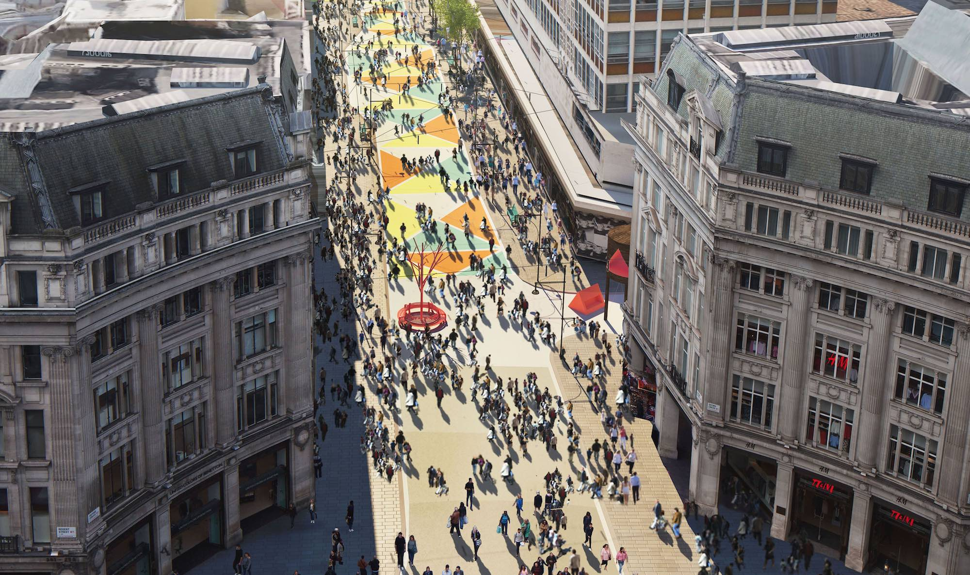 Oxford Street to be partly traffic-free from next year, says mayor