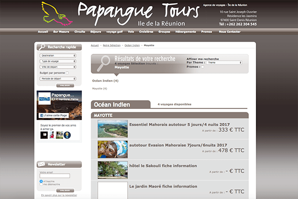 tours-papangue - Tourisme Mayotte