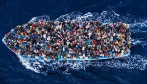 Bateau de migrants