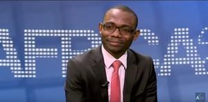 Mays Mouissi sur le plateau de l'émission ANR