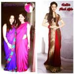 How To Wear Saree In Modern Pallu Style Best Saree Draper In India Mayuri Saree Draping