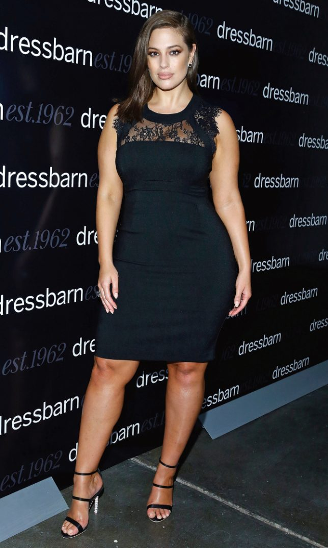 NEW YORK, NY - OCTOBER 19: Ashley Graham attends 2016 Dressbarn fall campaign launch with Ashley Graham at Industria Superstudio on October 19, 2016 in New York City. (Photo by John Lamparski/WireImage)