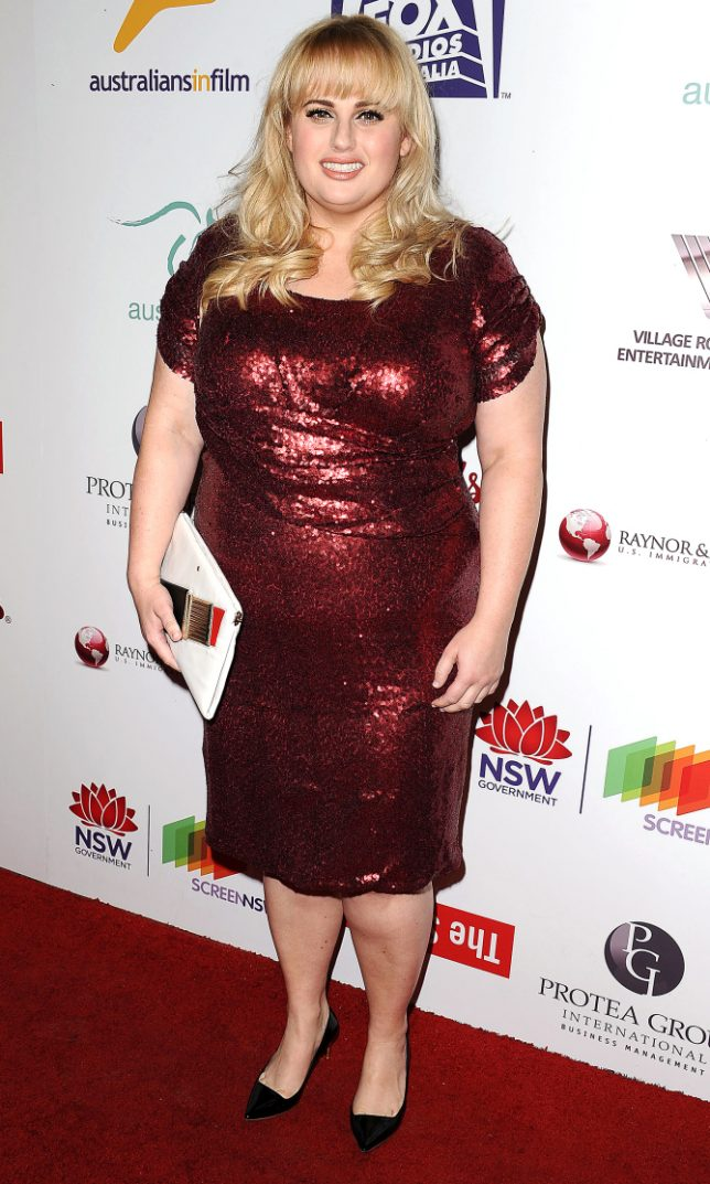 LOS ANGELES, CA - OCTOBER 19: Actress Rebel Wilson attends the Australians in Film 5th Annual Awards Gala on October 19, 2016 in Los Angeles, California. (Photo by Jason LaVeris/FilmMagic)