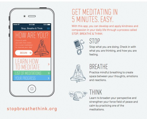 Stop Breathe Think app