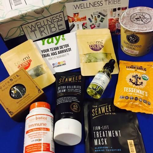 Wellness Tribe monthly box available through Cratejoy