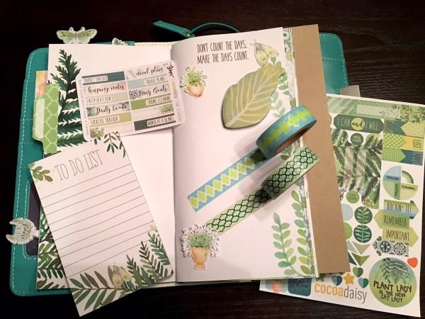 """Cocoa Daisy May 2017 """"Dori"""" notebooks and accessories"""