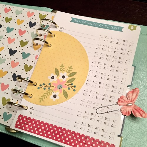 Carpe Diem A5 Planner and Home Planner Inserts from The Ink Road online shop