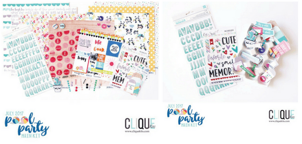 Clique Kits Pool Party Main Kit