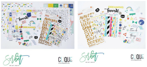 Clique Kits Sorbet Main Kit