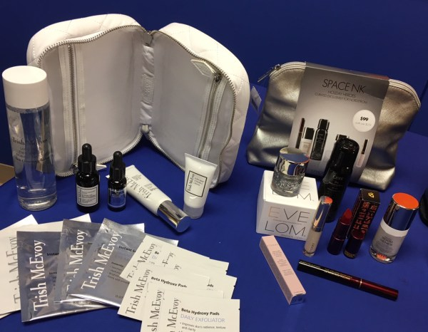 Trish McEvoy Power of Skincare Confident Collection and SPACE NK Holiday Heroes Set