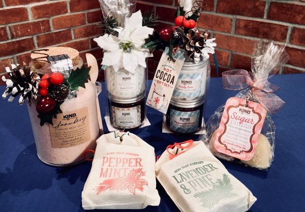 The Kind Soap Company holiday gifts