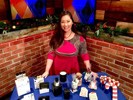 Sonja Shin with last-minute gift ideas on Fox 2 News