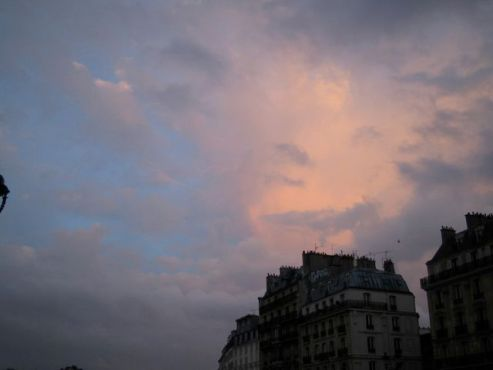 Clouds over the Latin Quarter, Paris