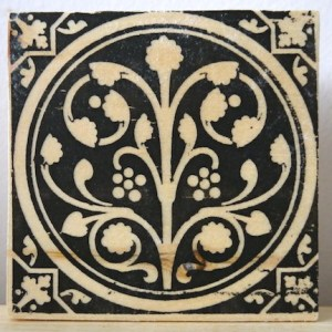 medieval flowering, sainte chapelle, paris france, medieval tiles, religious iconography, circles and geometric designs, inlaid inlay floor tiles