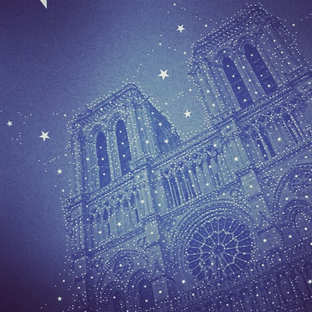 "Here's the #percolator effect I mentioned a few posts ago: ""full of stars"". It replaces the filter's bubbles with stars whose sizes vary according to the block of colour replaced. It definitely doesn't work with every photo, but when it does it's quite charming. Here's Notre Dame de Paris - pretty charming to start with - in a starry night setting. #filter #filters #digitalart #digitalpainting #blue #star #stars #paris #france #igers #igersparis #igerstoronto #igparis #church #starrynight #instagram #instagood #art #artwork #artist #artists #artistsofinstagram #parisjetaime #notredame #tinrocket @tinrocket"